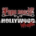 PAPA ROACH Hollywood Whore album cover