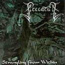 PECCATUM Strangling from Within album cover