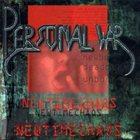 PERZONAL WAR Newtimechaos album cover