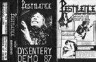 PESTILENCE Dysentery album cover