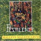 PESTILENCE Malleus Maleficarum album cover