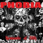 PHOBIA Remnants of Filth album cover