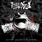 PHYLLOMEDUSA Destroy Destrucciòn Humana album cover