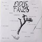 PIOUS FAULTS Speck album cover