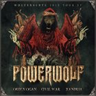 POWERWOLF Wolfsnächte 2015 Tour EP album cover