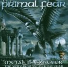 PRIMAL FEAR Metal Is Forever: The Very Best of Primal Fear album cover