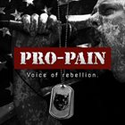 PRO-PAIN Voice of Rebellion album cover