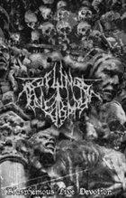 PROFUNDIS TENEBRARUM Blasphemous Live Devotion album cover