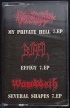 PSYCHOSIS Psychosis / Burial / Wombbath album cover