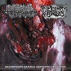 PULMONARY FIBROSIS Decomposing Cranial Contents 2 Way Split album cover