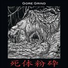 PULMONARY FIBROSIS Gore Grind 4 Way Split CD album cover