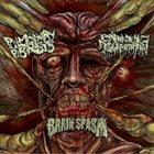 PULMONARY FIBROSIS Pulmonary Fibrosis / Entrenched Ingurgitation / Brain Spasm album cover