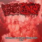 PULMONARY FIBROSIS Uncontrollable Pulsating Dismemberment Split album cover