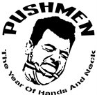 PUSHMEN The Year Of Hands And Neck album cover