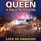 QUEEN Live In Ukraine album cover