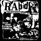 RABID The Bloody Road To Glory album cover