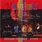RAINBOW Deutschland Tournee 1976: Düsseldorf Philipshalle, 27.9.1976 album cover