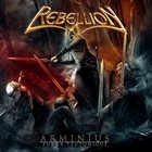 REBELLION Arminius: Furor Teutonicus album cover