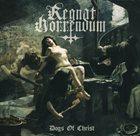 REGNAT HORRENDUM Dogs of Christ album cover