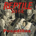 REPTILE Pesadillas album cover