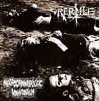 REPTILE Reptile / Necrocannibalistic Vomitorium album cover