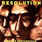 RESOLUTION Seattle Brotherhood album cover