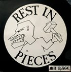 REST IN PIECES My Rage album cover