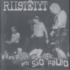RIISTETYT 4 Bastardos Ao Vivo Em São Paulo album cover