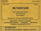 RUNESTAFF Runestaff - Demo album cover