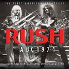 RUSH ABC 1974 album cover