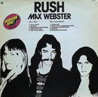 RUSH Rock On!: Rush / Max Webster album cover