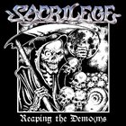 SACRILEGE Reaping the Demo(n)s album cover