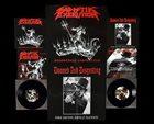 SADISTIK EXEKUTION Sadistikly Disgusting / The Devil Down Under album cover