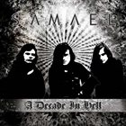 SAMAEL A Decade in Hell album cover
