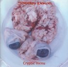 SANITYS DAWN Cryptic Menu album cover