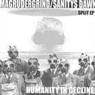 SANITYS DAWN Humanity In Decline album cover