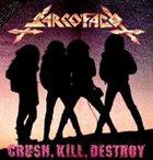 SARCÓFAGO Crush, Kill, Destroy album cover
