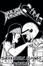 SARJAN HASSAN Thrashcore Against Authority album cover