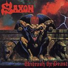 SAXON Unleash the Beast album cover