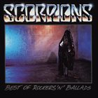 SCORPIONS Best Of Rockers 'N' Ballads album cover