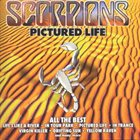 SCORPIONS Pictured Life: All The Best album cover