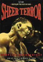 SHEER TERROR Beaten By The Fists Of God - Live At CBGB's October 10. album cover