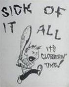 SICK OF IT ALL It's Clobberin' Time! album cover