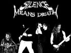 SILENCE MEANS DEATH Promo CD album cover