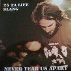SLANG Never Tear Us Apart album cover
