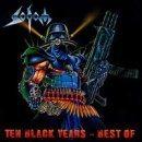 SODOM Ten Black Years: Best Of album cover