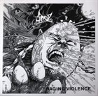 SPAZZ Dying World (Shock) / Raging Violence album cover