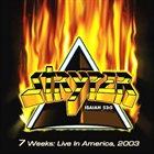 STRYPER 7 Weeks: Live In America 2003 album cover