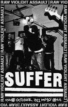 SUFFER Raw Violent Assault album cover