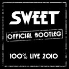 SWEET 100 % Live: 2010 album cover